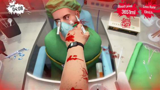 surgeon simulator indie game on nintendo switch